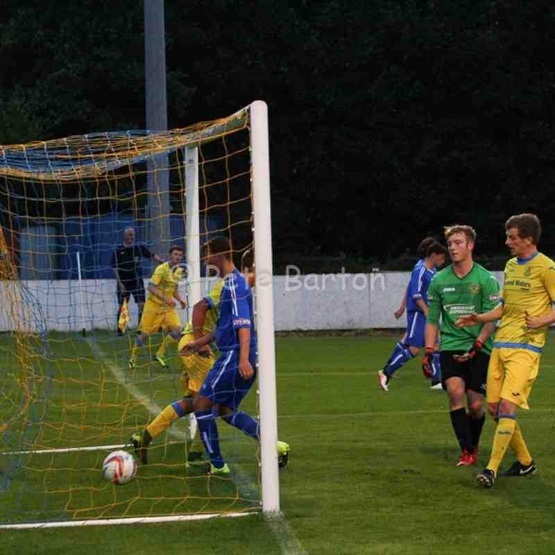 Preseason - Ashton Athletic 7 Skelmersdale Utd 0 - 26/7/16