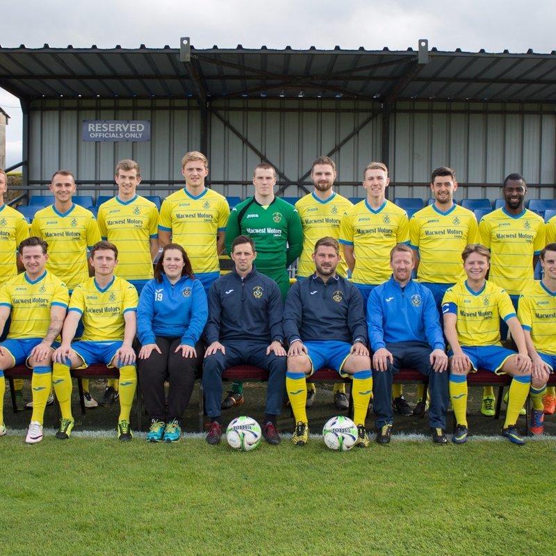 First Team beat Atherton Laburnum Rovers 3 - 0
