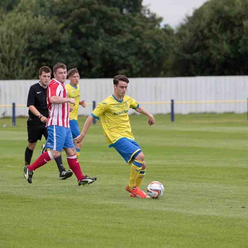 Preseason - Ashton Athletic 4 Stockport Town 2 - 2/8/16