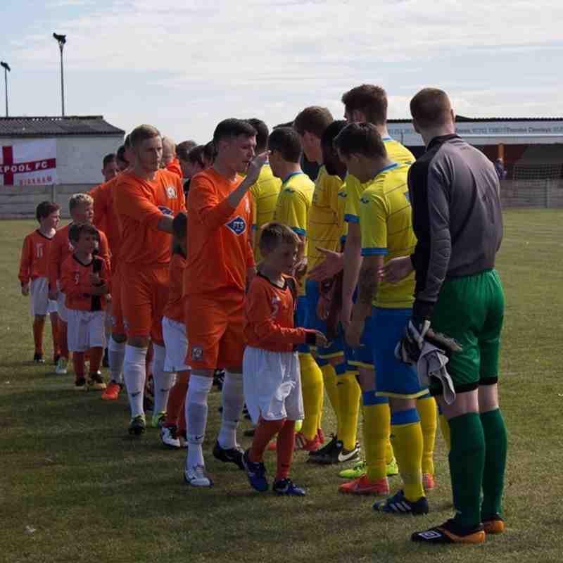 FA Cup Extra Preliminary Round - AFC Blackpool 0 Ashton Athletic 1 - 6/8/16