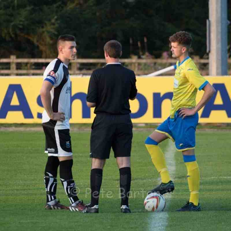 Development Squad - Ashton Athletic 3 Bamber Bridge 5 - 18/8/16