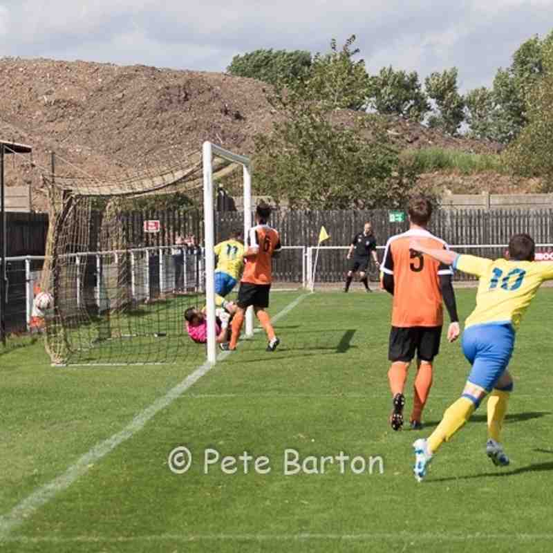 FA Cup Preliminary Round - Worksop Town 2 Ashton Athletic 2 - 21/8/16