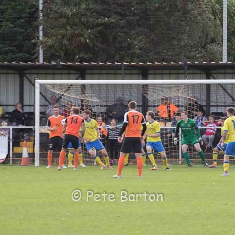 FA Cup Preliminary Round - Worksop Town 2 Ashton Athletic 2 - 21/8/16