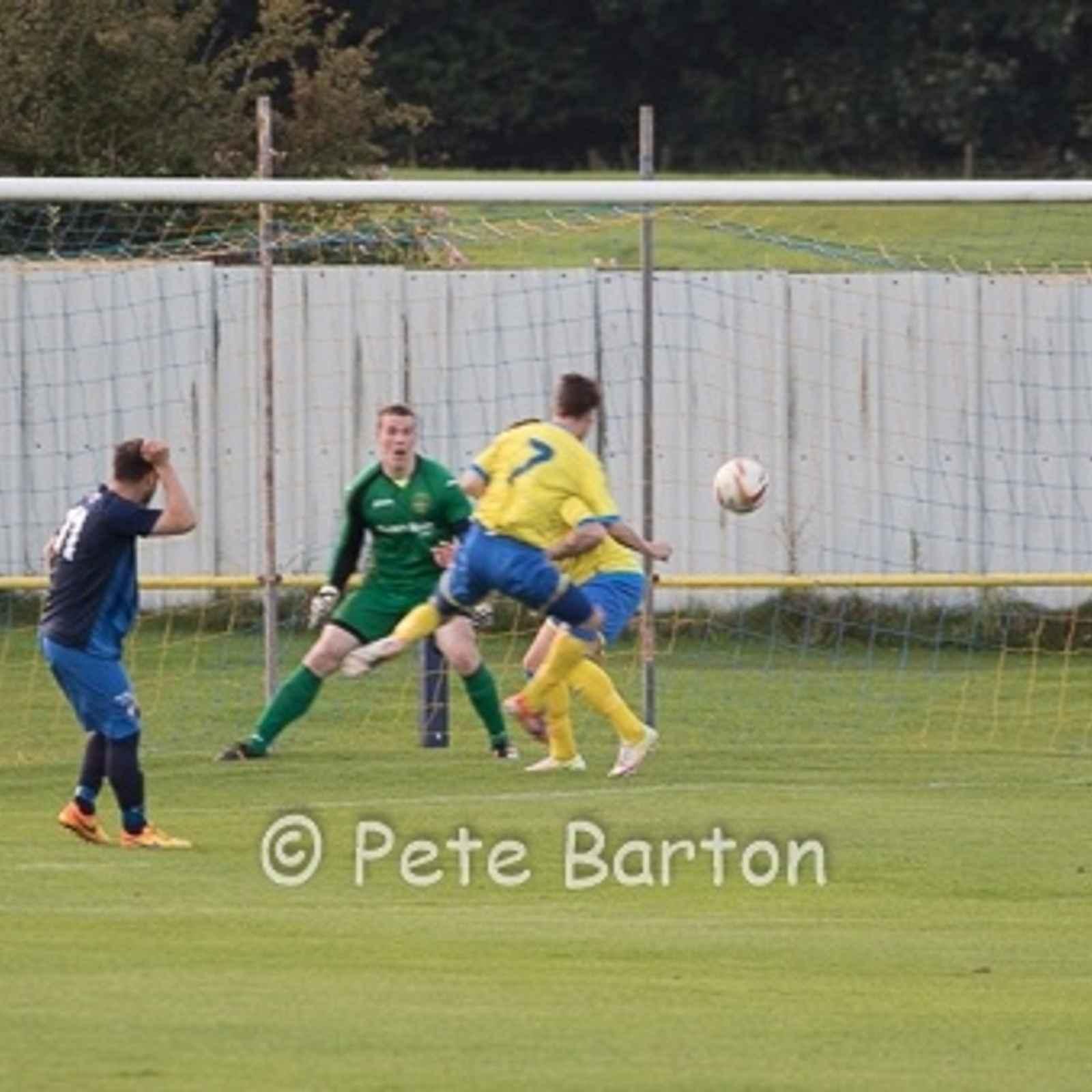 FA Cup Preliminary Round Replay - Ashton Athletic 2 Worksop Town 2 (Ashton Athletic win 4-1 on pens ) - 23/8/16