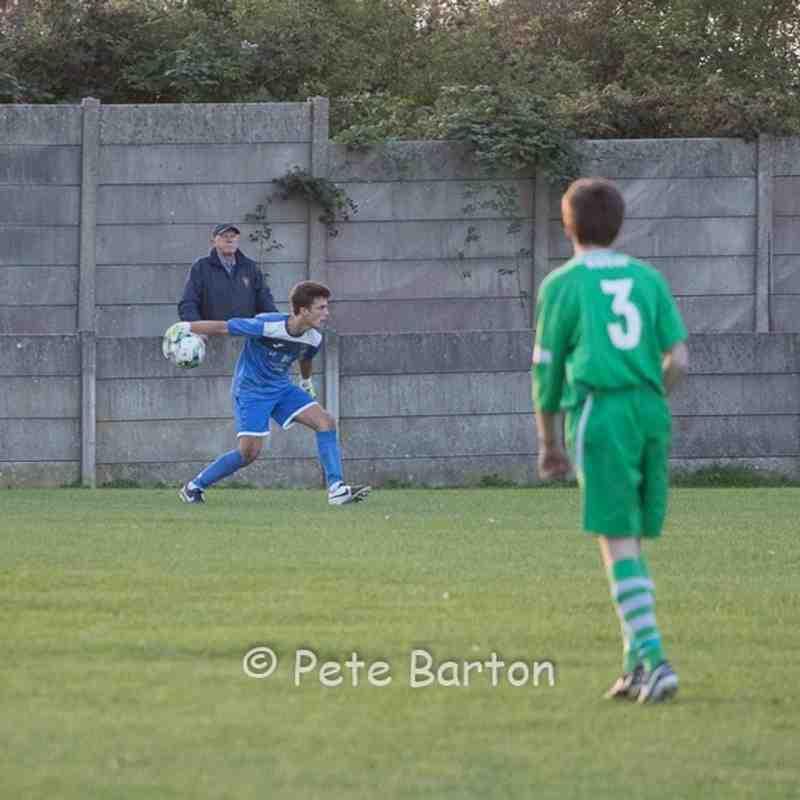 FA Youth Cup - Burscough 1 Ashton Athletic 4 - 30/8/16
