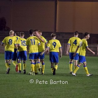 FA Youth Cup - Burscough 1 Ashton Athletic 4