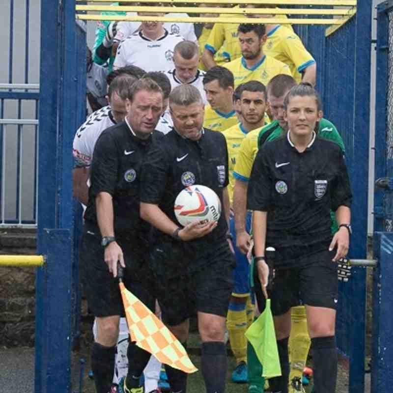 Emirates FA Cup 1st Qualifying - Ashton Athletic 7 Mossley 2 - 3/9/16