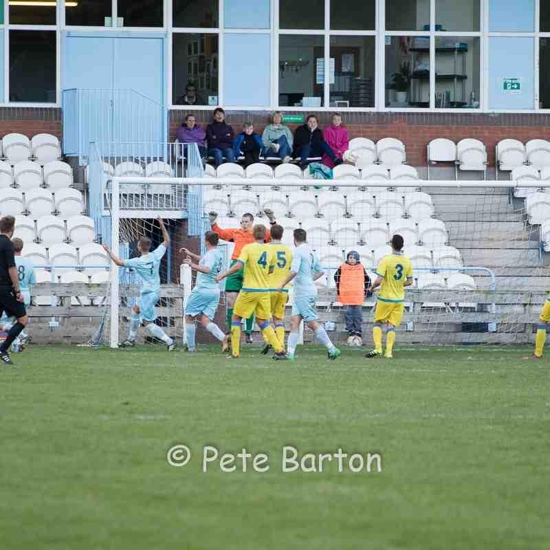 Macron Cup - Carlisle City 0 Ashton Athletic 2 - 1/10/16