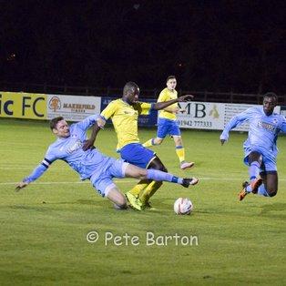Match Report: Ashton Athletic 2 West Didsbury & Chorlton 3