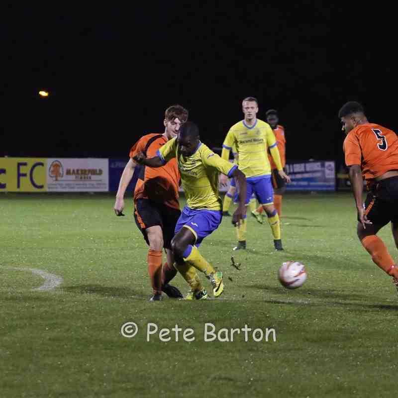 League - Ashton Athletic 6 Nelson 0 - 18/10/16