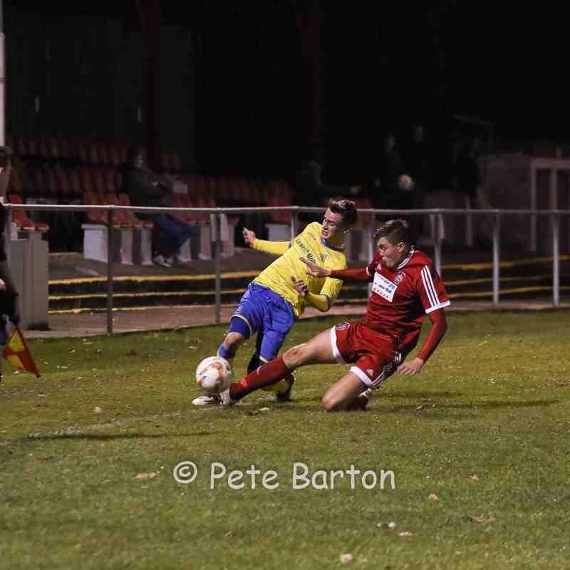 League - AFC Darwen 0 Ashton Athletic 4 - 26/10/16