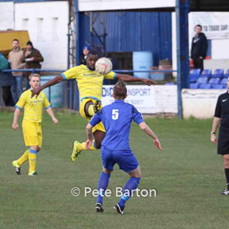 League - Winsford United 2 Ashton Athletic 2 - 19/11/16