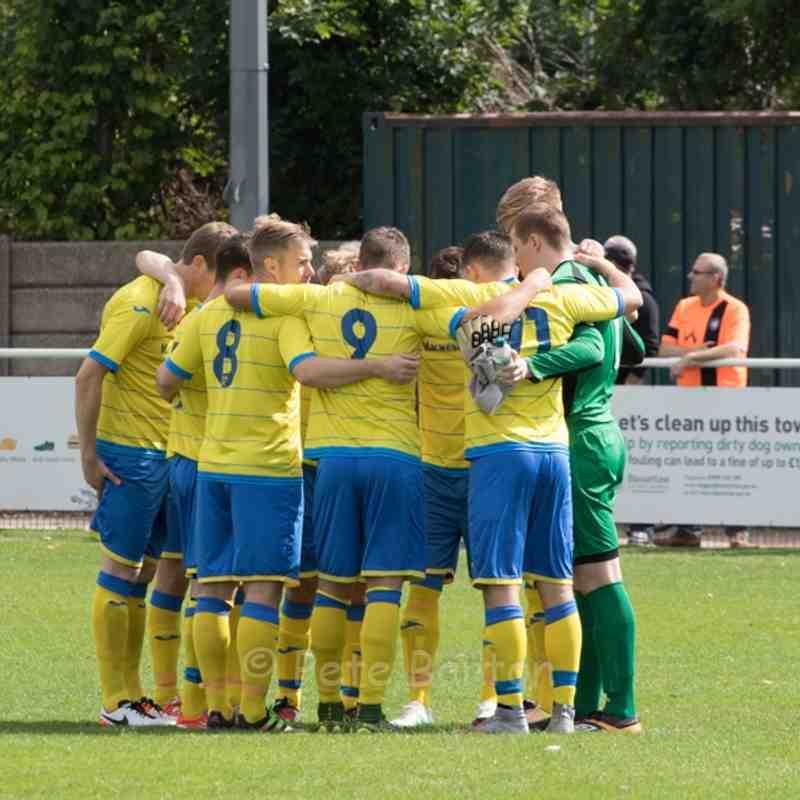 FA Cup Prelim - Worksop Town 2 Ashton Athletic 2 - 21/8/16