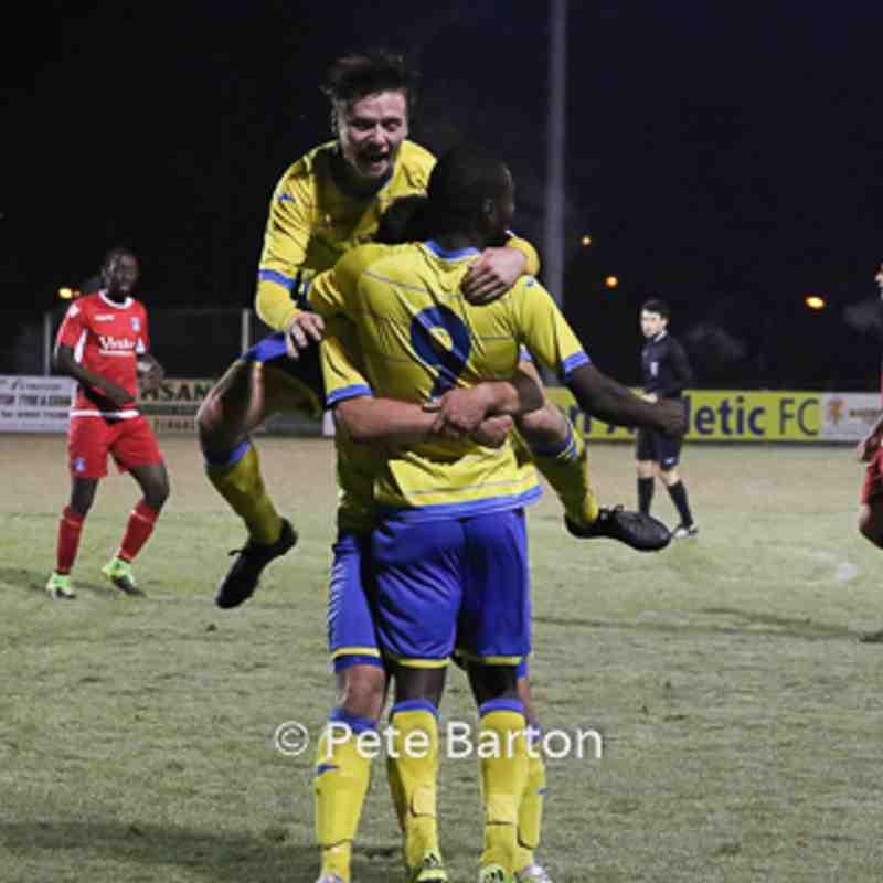 Macron Cup - Ashton Athletic 2 Runcorn Town 0 - 25/11/16