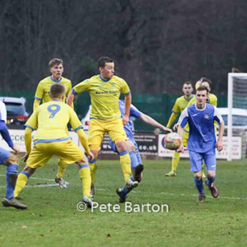League - Nelson 2 Ashton Athletic 2 - 3/12/16