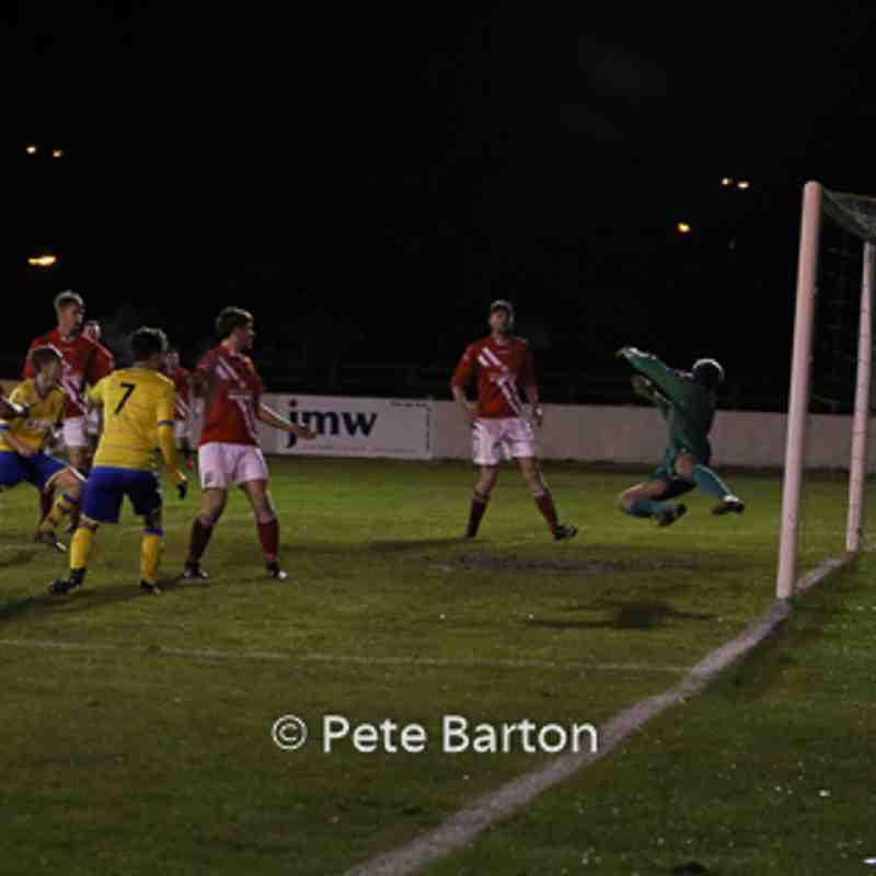 Development Squad - Ashton Athletic 5 Workington 0 - 1/12/16