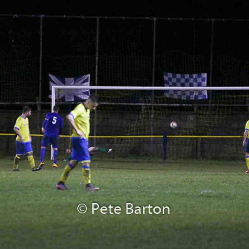 League - Ashton Athletic 1 Irlam 3 - 10/12/16