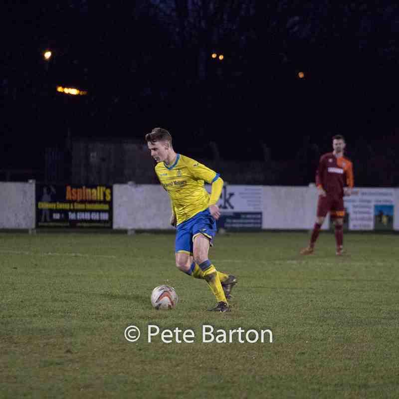 League - Ashton Athletic 5 Barnton 1 - 14/1/17