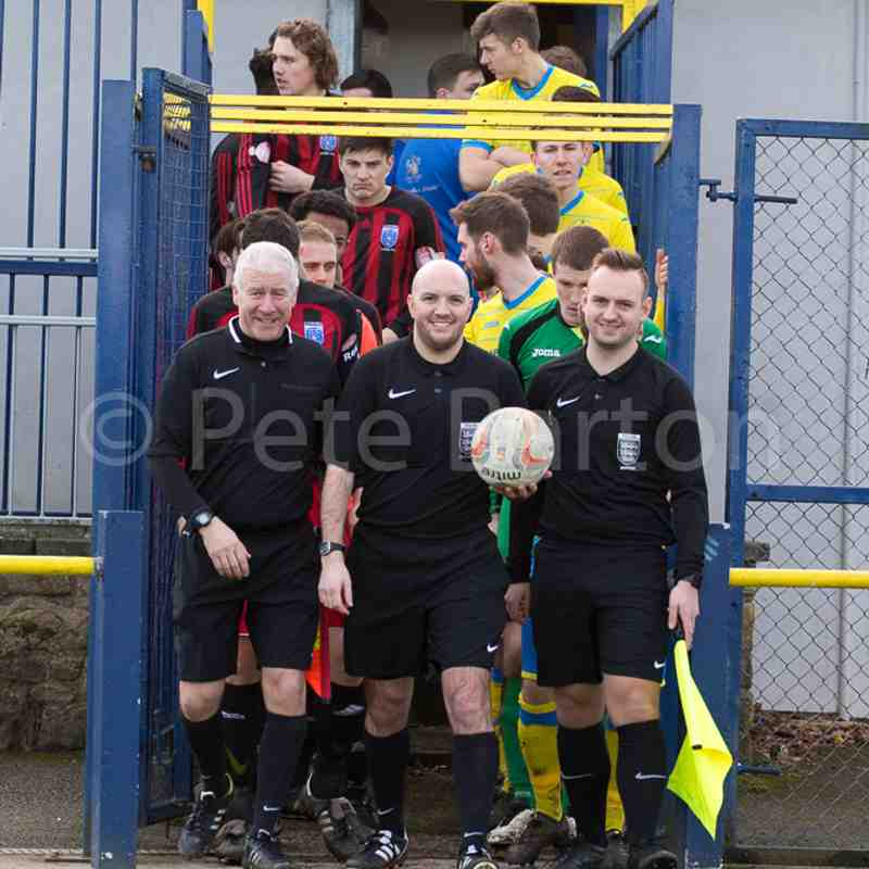 League - Ashton Athletic 1 Cammell Laird 1 - 4/2/17