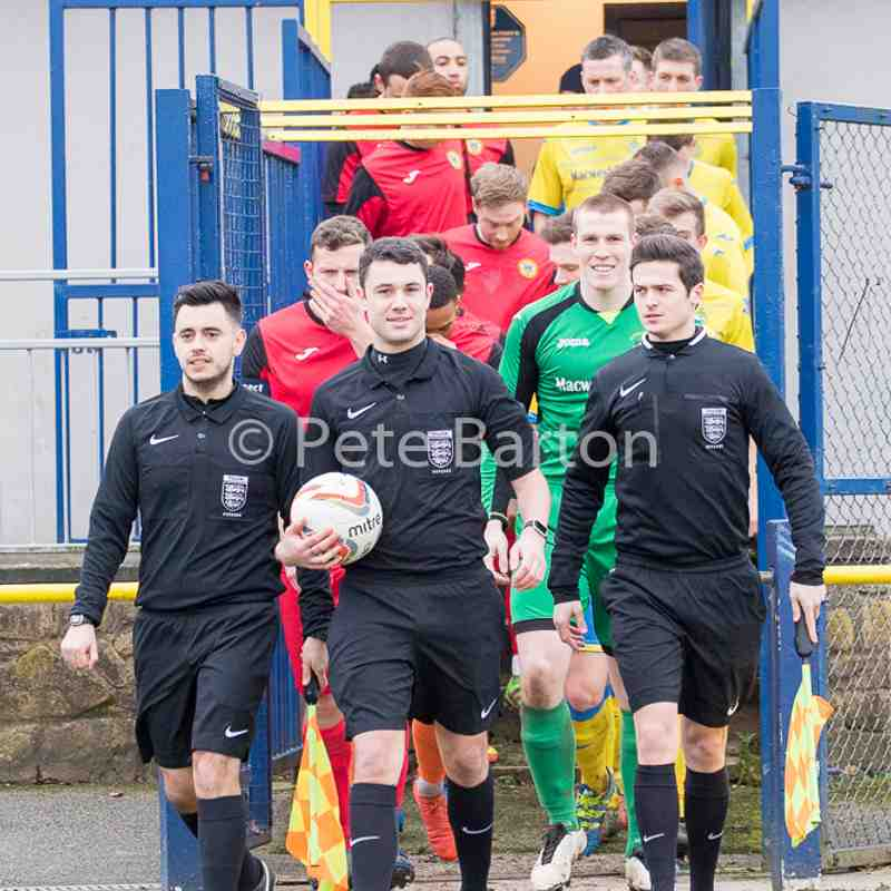 League - Ashton Athletic 3 New Mills 0 - 11/2/17