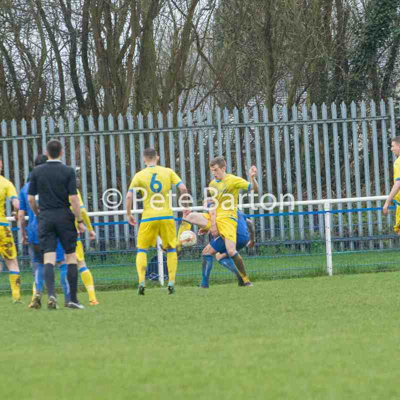 League - Hanley Town 4 Ashton Athletic 3 - 18/3/17