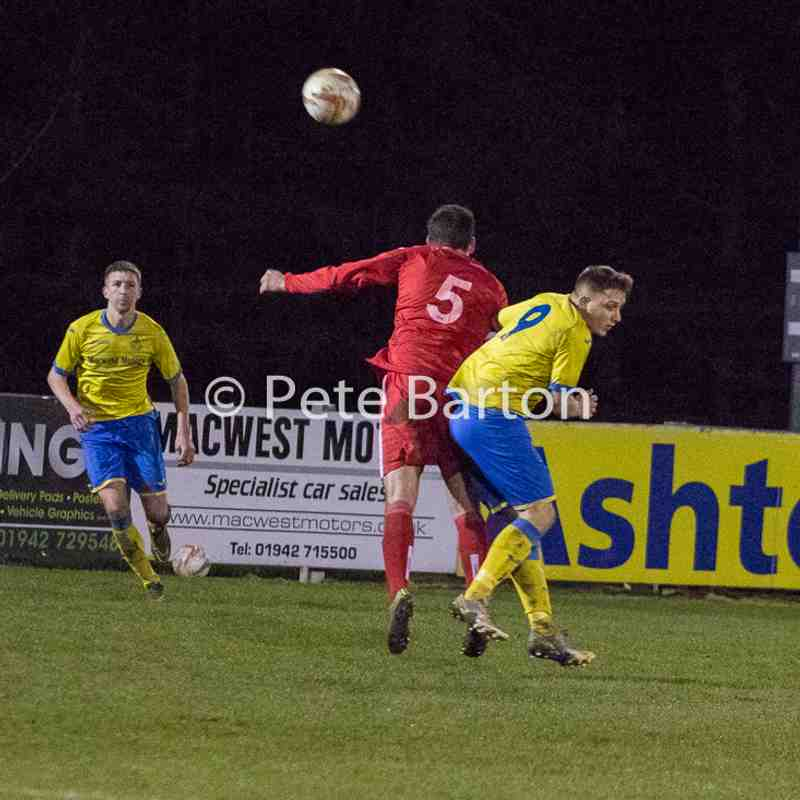 League - Ashton Athletic 3 Padiham 1 - 21/3/17
