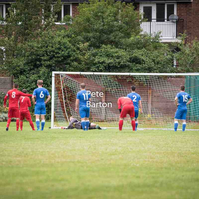Preseason - Windle Labour 0 Ashton Athletic 6 - 11/7/17