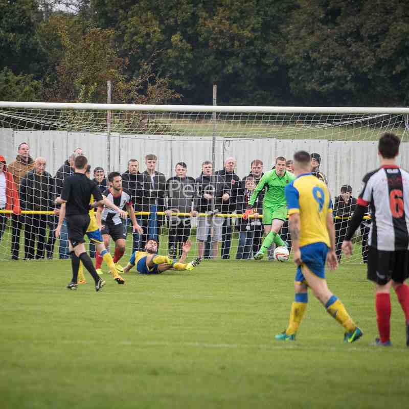 Emirates FA Cup 3rd Preliminary Round - Ashton Athletic 0 Chorley 1 - 30/9/17