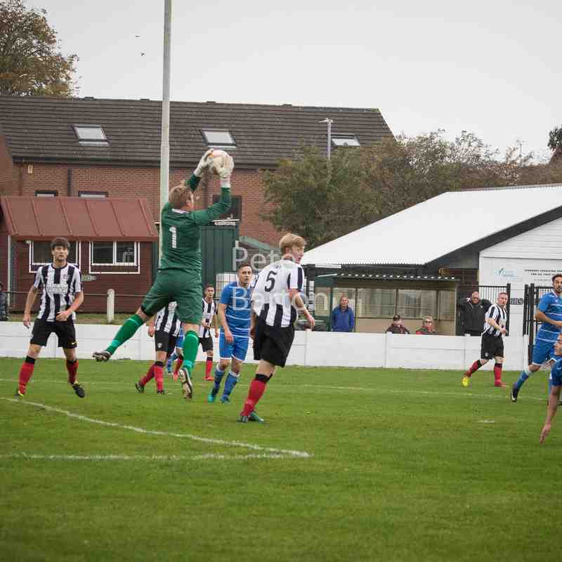 League - Congleton 0 Ashton Athletic 0 - 7/10/17 - Match Abandoned