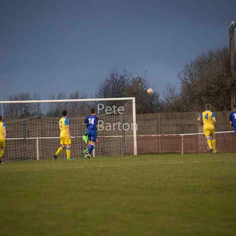 League - Squires Gate 3 Ashton Athletic 1 - 4/11/17