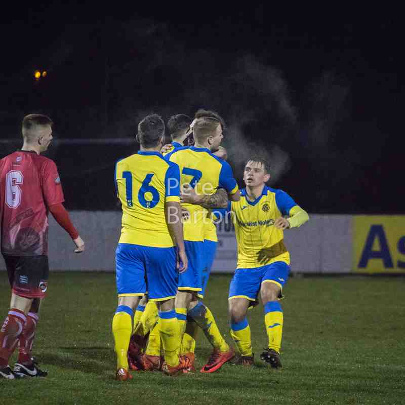 League - Ashton Athletic 3 Abbey Hey 0 - 16/12/17