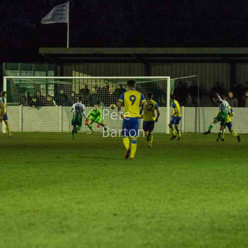 League - Charnock Richard 1 Ashton Athletic 0 - 13/1/18