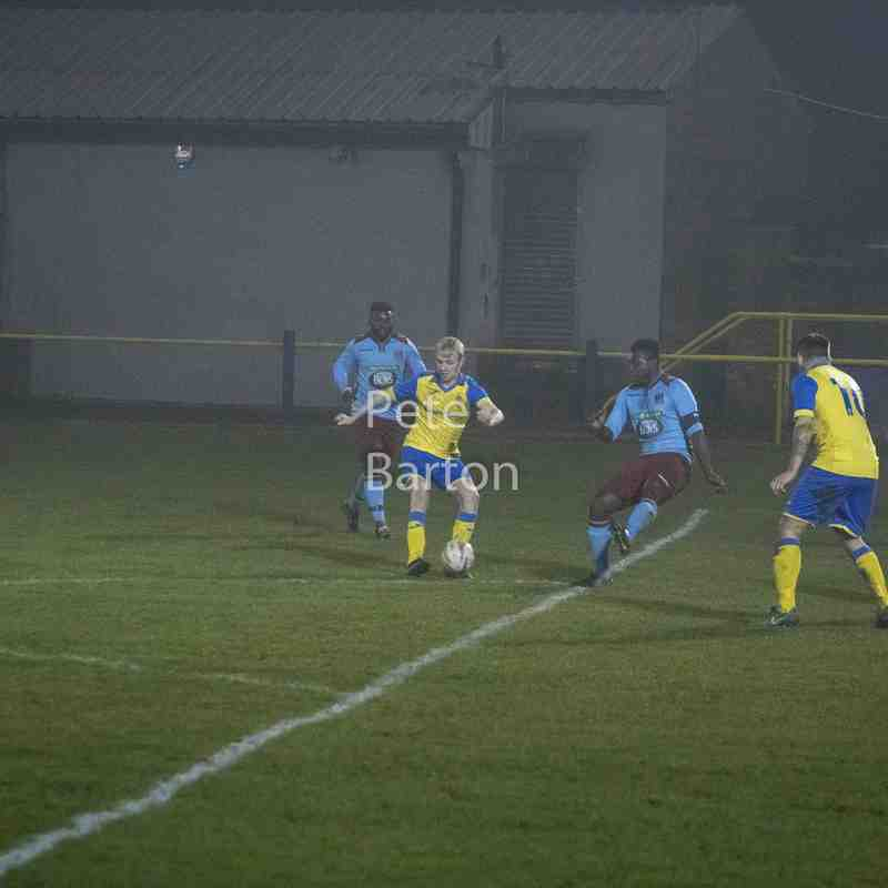 Macron Cup - Ashton Athletic 6 Bacup Borough 1 - 11/1/18