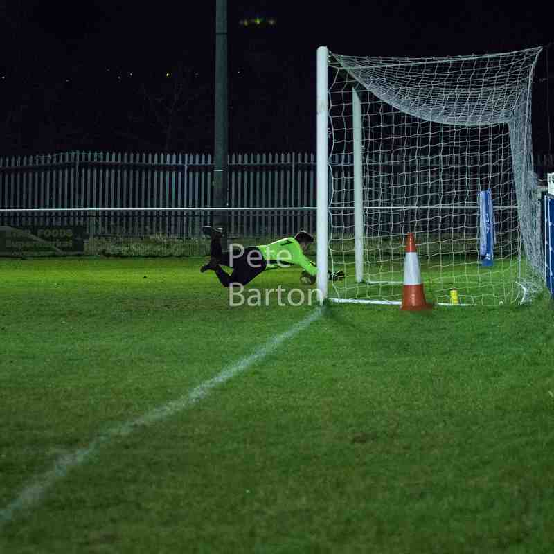 League - Hanley Town 1 Ashton Athletic 0 - 31/1/18