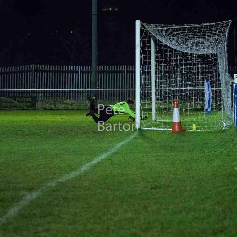 League - Hanley Town 1 Ashton Athletic 0 - 31/1/18