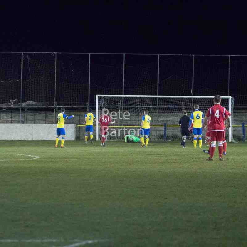 League - Ashton Athletic 0 Hanley Town 5 - 20/3/18