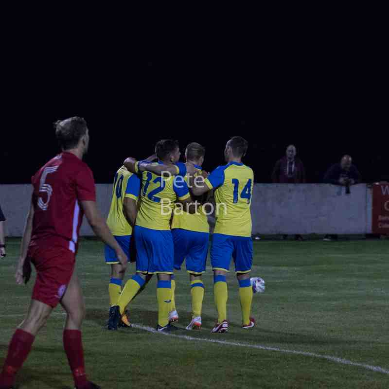 Emirates FA Cup Extra Preliminary Round Replay - Ashton Athletic 4 AFC Liverpool 1 - 14/8/18
