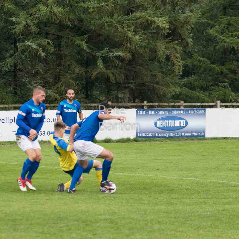 Emirates FA Cup 1st Qualifying Round - Ashton Athletic 1 Morpeth Town 1 - 8/9/18