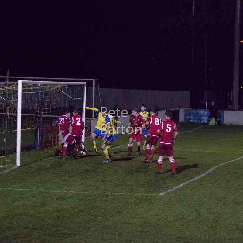League - Ashton Athletic 1 Hanley Town 0 - 15/12/18
