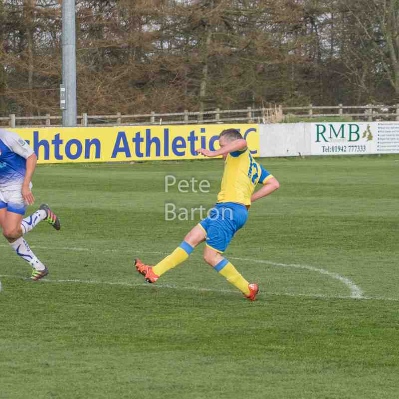 League - Ashton Athletic 3 Abbey Hey 0 - 30/03/19