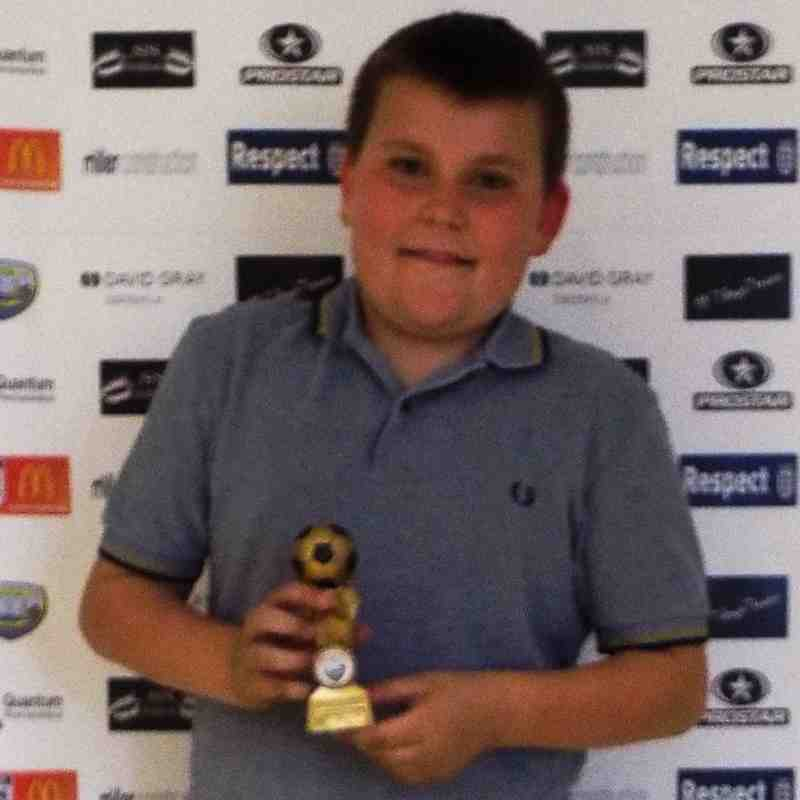 Presentation night U10s 14/15