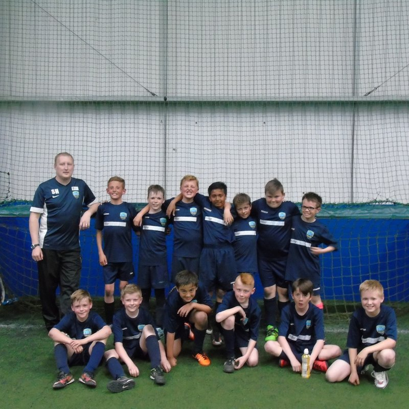 Under 11 Hornets win Team of the Year Trophy