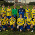 Under 13 Hornets beat Prudhoe tigers 3 - 0