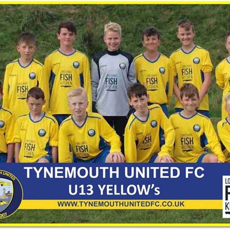 Tynemouth United Yellows vs. Throckley Magpies