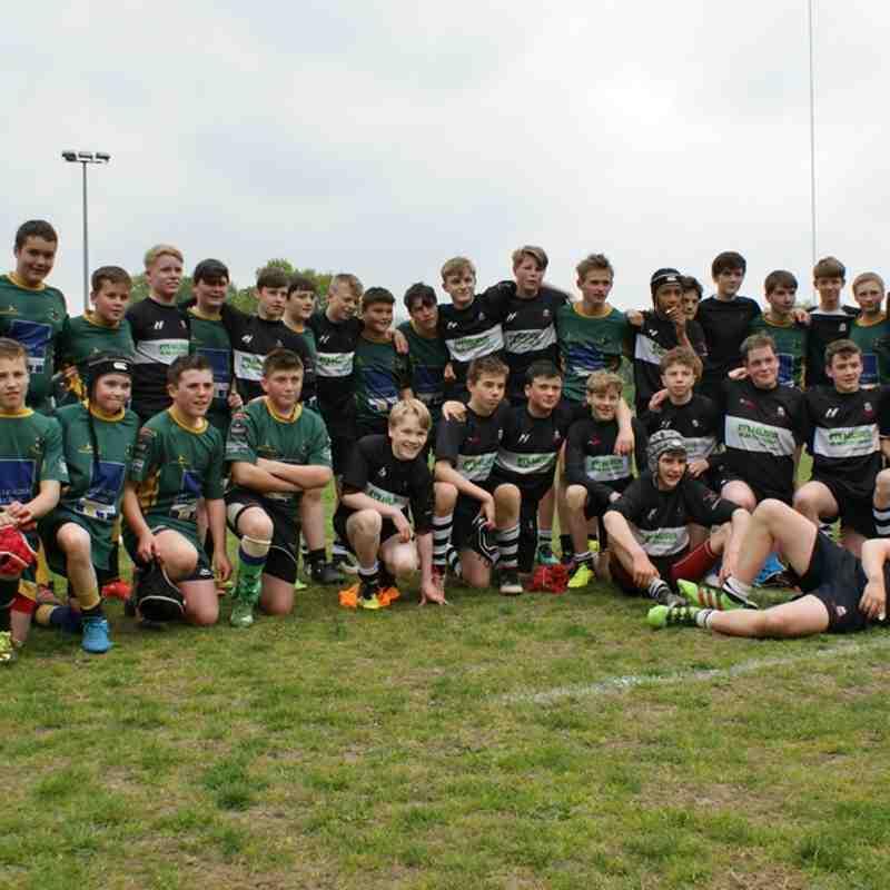 WRUFC U14's v Nant Conwy A (Win 19 - 40)(TOUR)