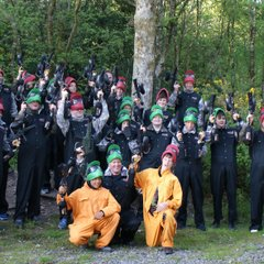 WRUFC U14's Paintball Nant Conwy Tour. Cheers to Andy R for the photography