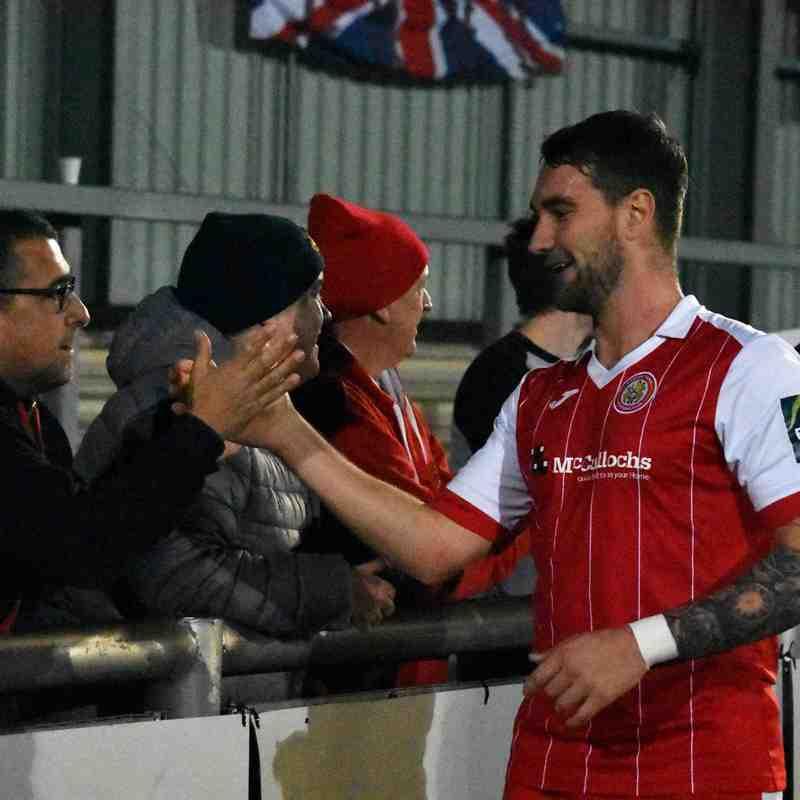 17th November 2018 Harlow 1-0 Tonbridge Angels