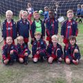 Under 7 Saints lose to Oakwood Eagles 6 - 2