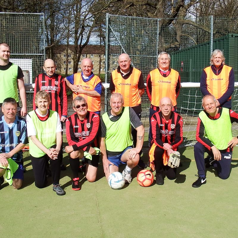 The Shelley FC walking football group