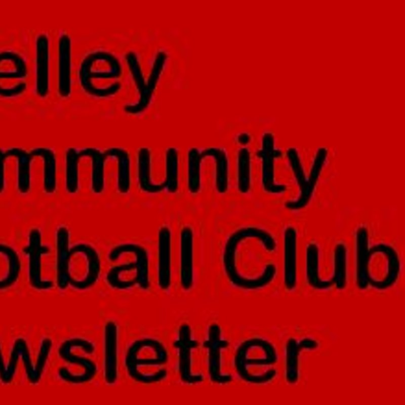 Shelley Community Football Club Newsletter
